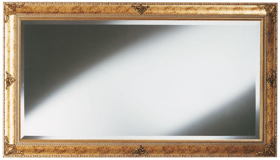 ... in stile classico in foglia oro con fregi Specchio - Soggiorno