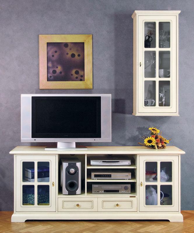 Mobile porta tv vetrina in stile parete soggiorno ebay - Porta tv a parete sospesi ...