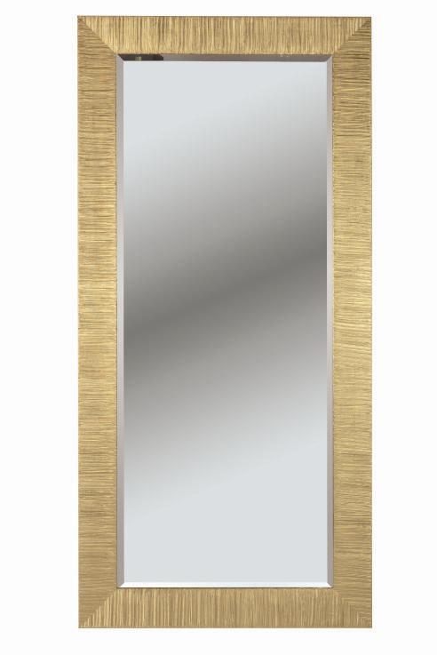 6719) specchiera foglia oro figura intera