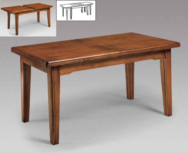 Mobilier table petite table avec rallonge for Table hetre avec rallonge